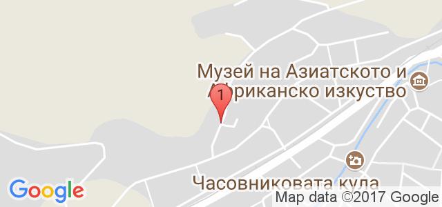 Хотел Бръшлян Карта