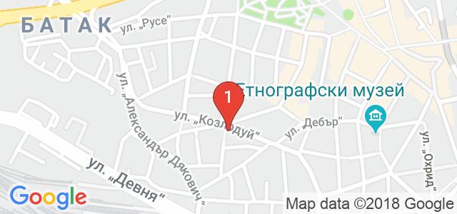 Масажно студио Тандем  Карта