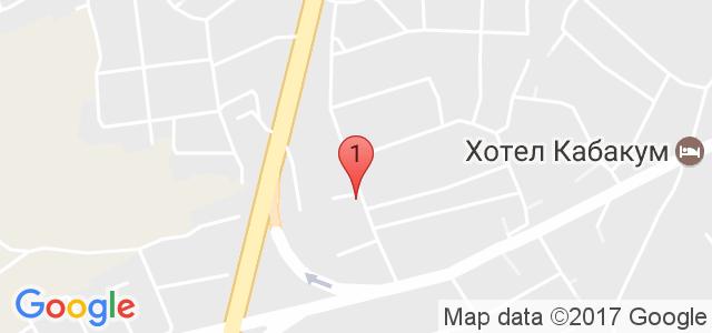 Хотели Реджина , Манастирски рид Карта