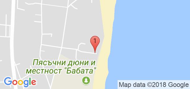 Хотел Golden Ina Карта