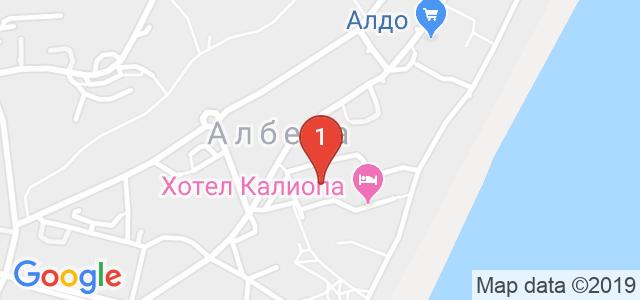 Хотел Малибу 4* Карта