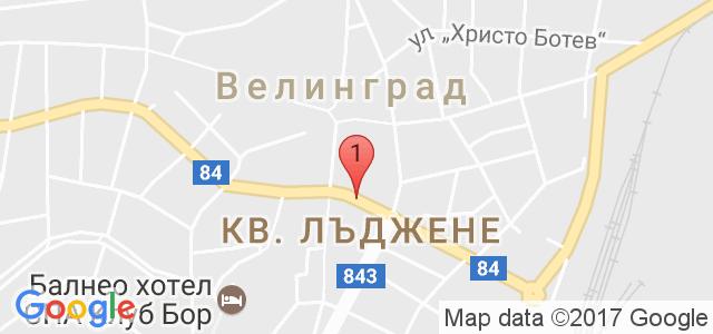 хотел Астра, гр. Велинград Карта