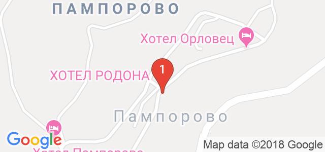 МПМ хотел Мериан 3* Карта