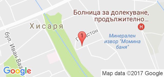 Вила Стряма Карта