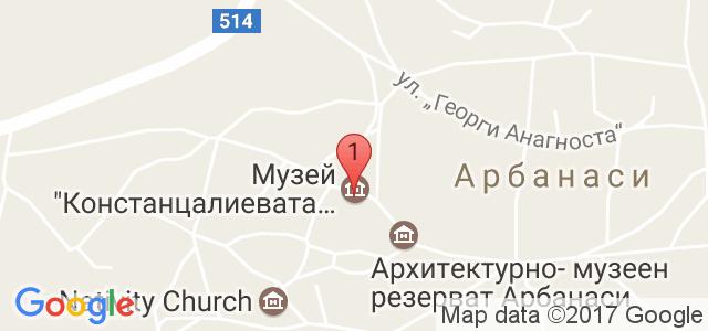 Хотел Бохеми Карта