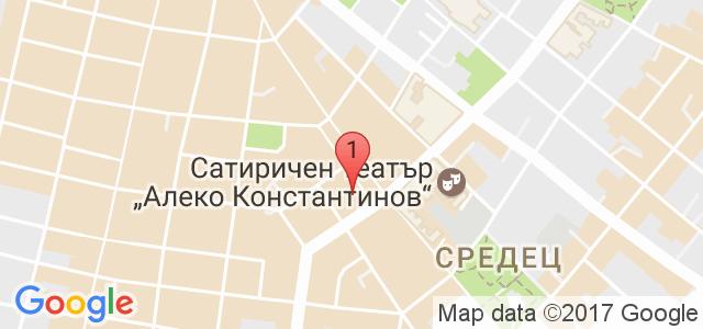 Театър Възраждане Карта