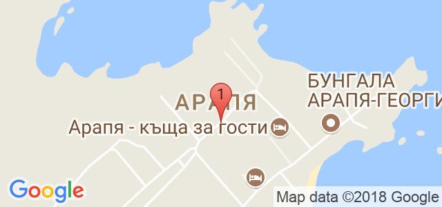 Арапя Сън Ризорт 3* Карта