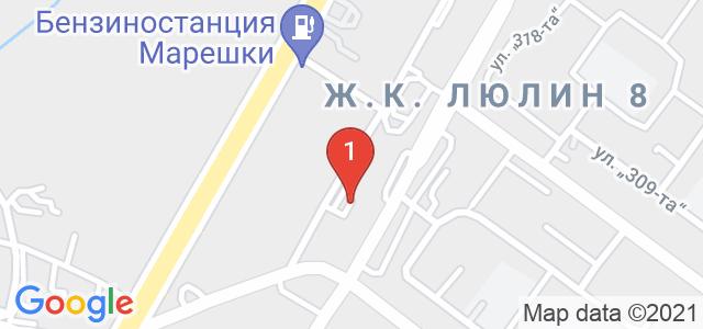 Автошкола Ауто Хепи 83 Карта