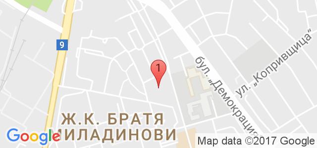 Спортна зала Стимул Карта