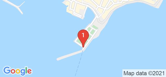 Яхта Кибела Карта