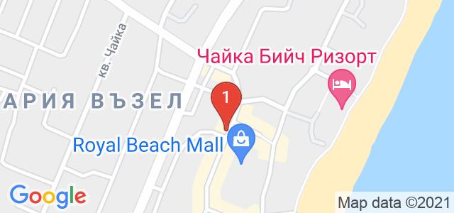 Хотел Вила Бора Карта