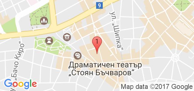 Копирно студио Офиспринт Карта