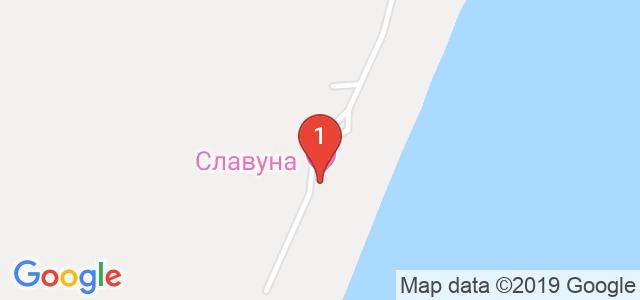 Хотел Славуна Карта