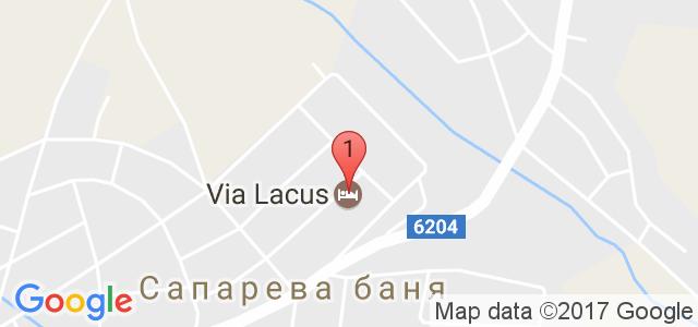 Хотел Виа Лакус Карта