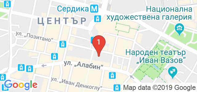Психолог Кристиян Денчев Карта