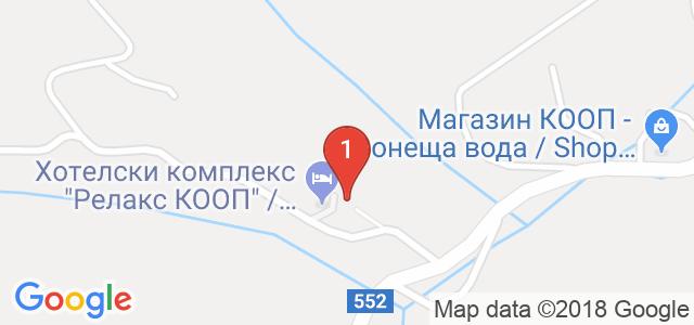 Хотел КООП Релакс  Карта
