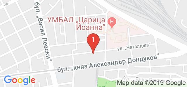 Ресторант Харизма Карта